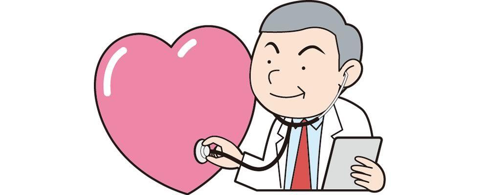 診断をする医師